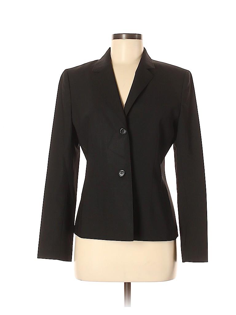 Petite Sophisticate Women Wool Blazer Size 8