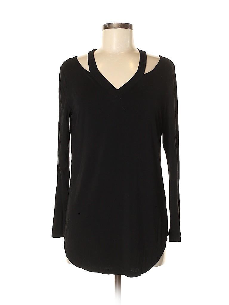 Amaryllis Women Long Sleeve Top Size M