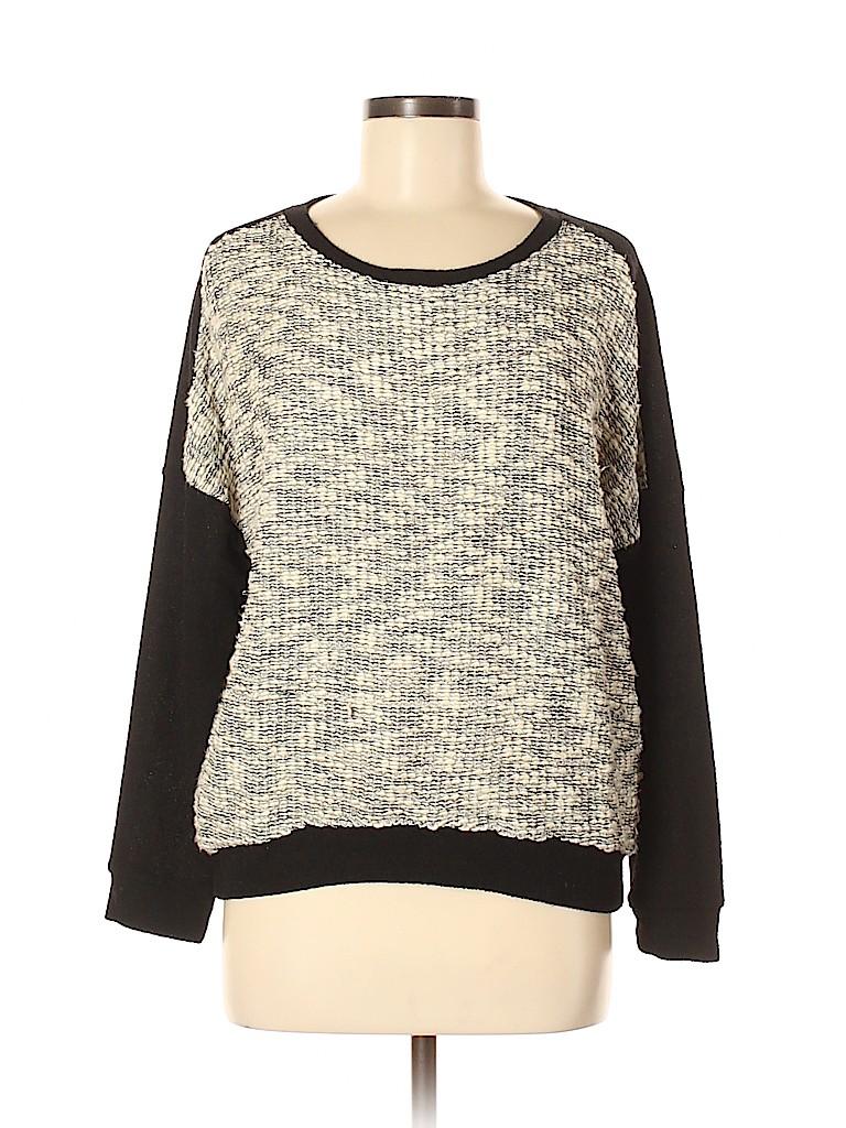 Chloe K Women Pullover Sweater Size M