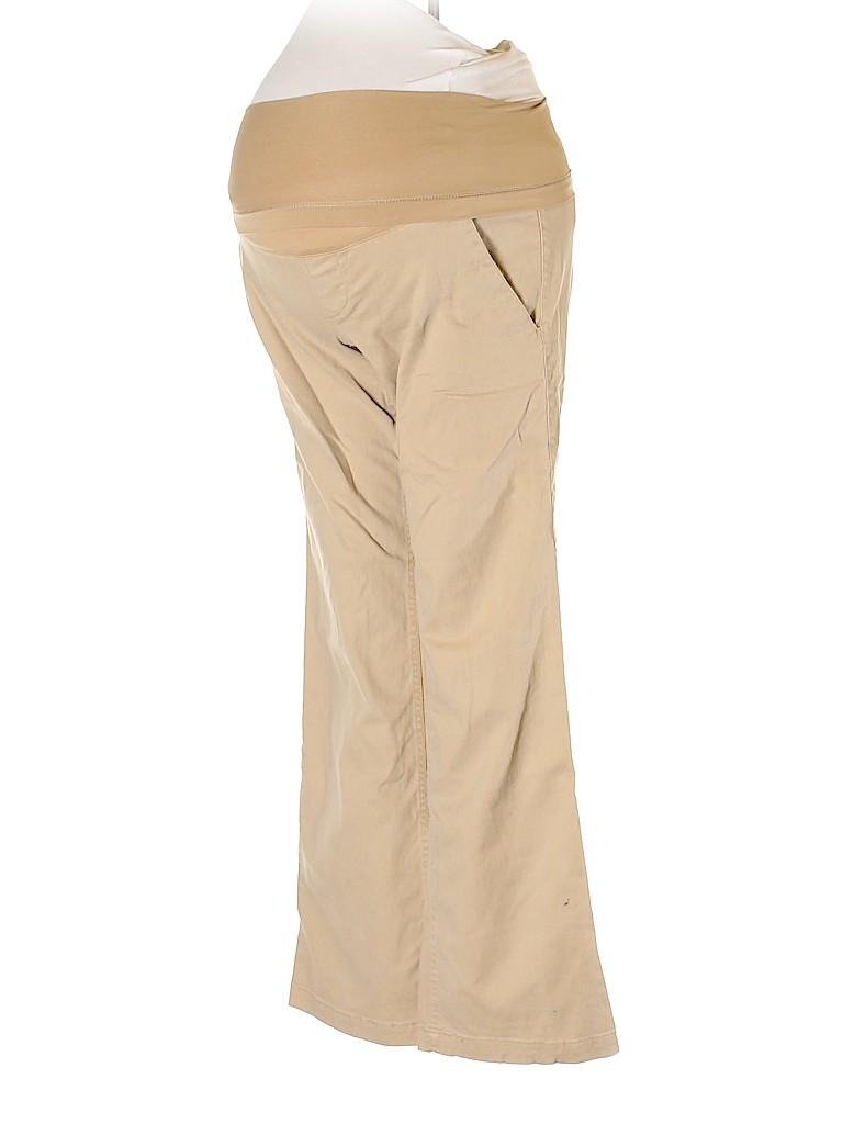Liz Lange Maternity Women Khakis Size 2 (Maternity)