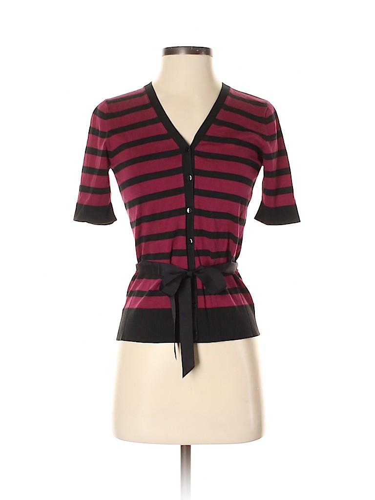 Ann Taylor Women Silk Cardigan Size XS