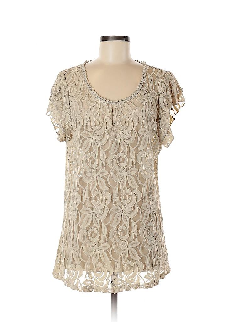 Cato Women Short Sleeve Blouse Size XL