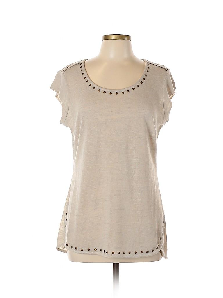 Essentials Women Short Sleeve Top Size L