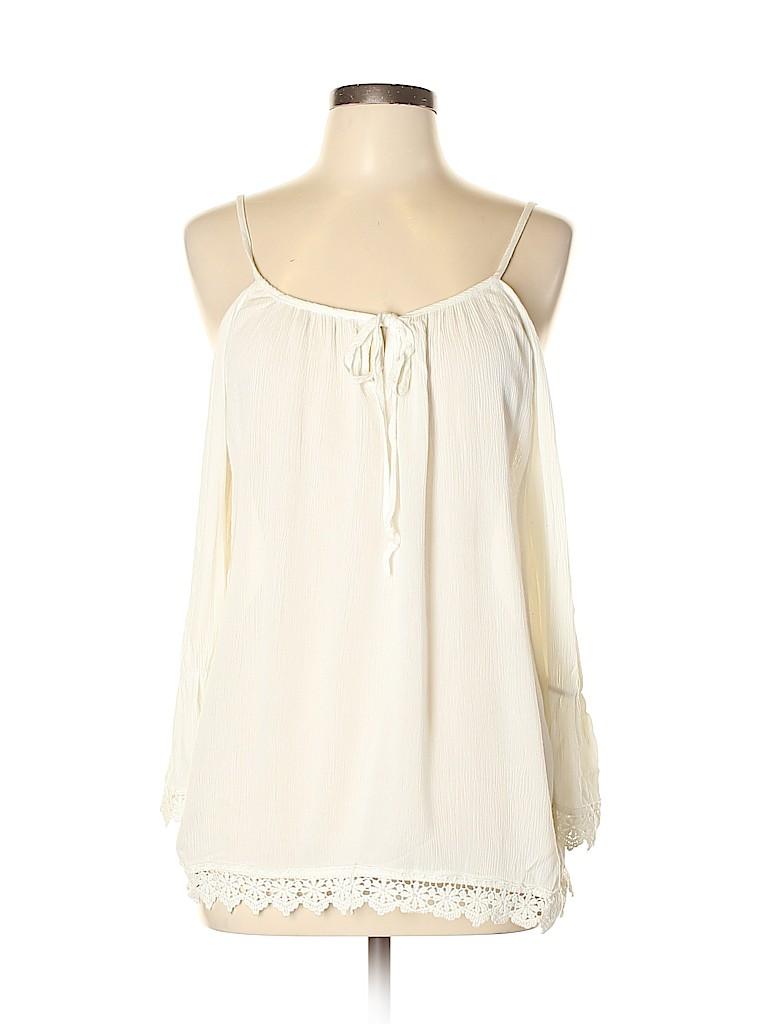 Crescent Women 3/4 Sleeve Blouse Size L