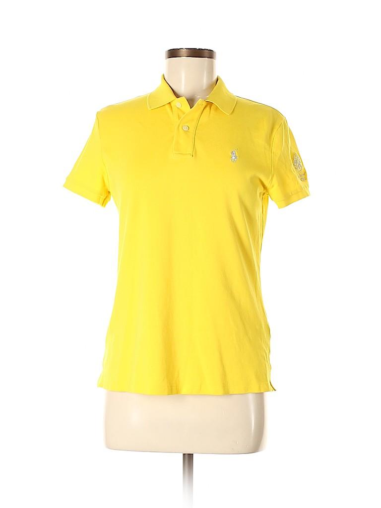 Ralph Lauren Golf Women Short Sleeve Polo Size M