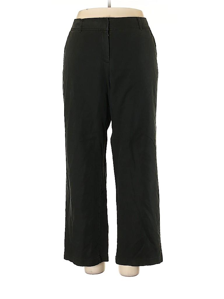 Charter Club Women Khakis Size 18W (Plus)