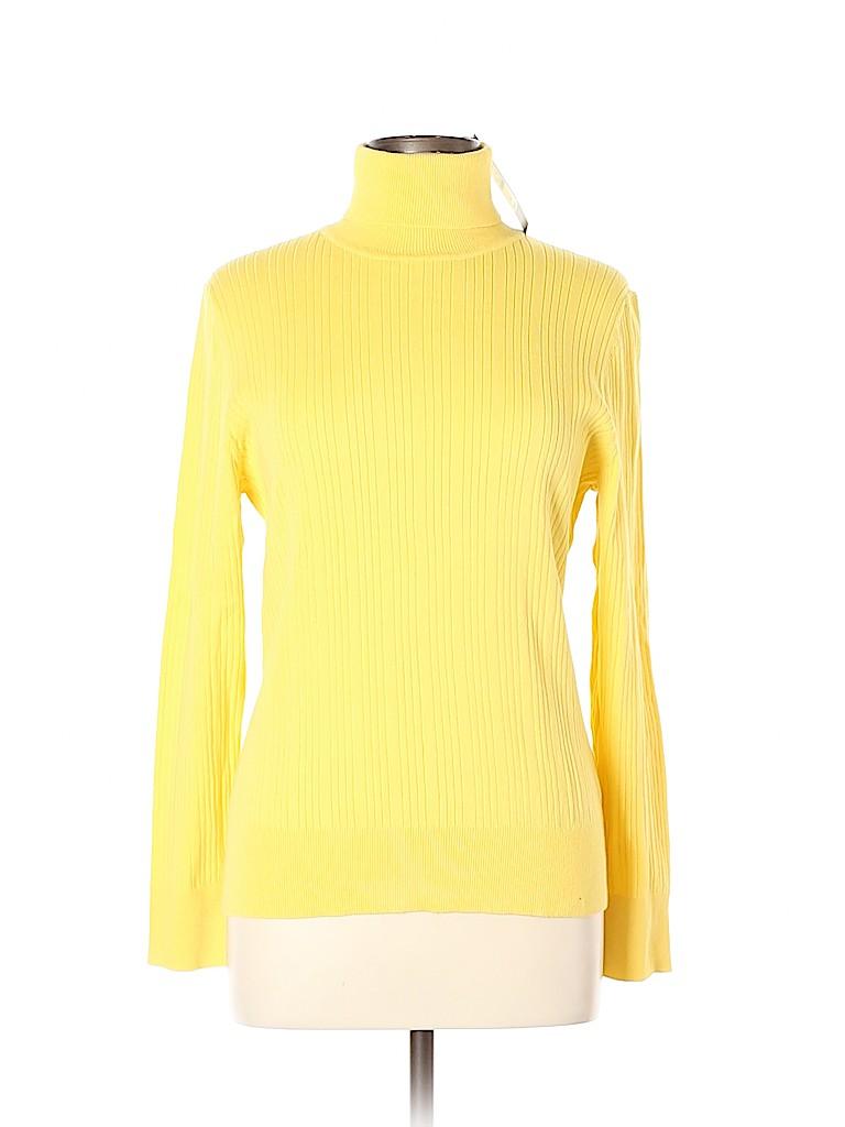 Talbots Women Turtleneck Sweater Size XL