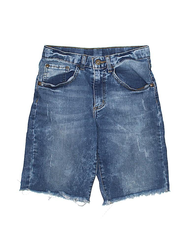Arizona Jean Company Boys Denim Shorts Size 14