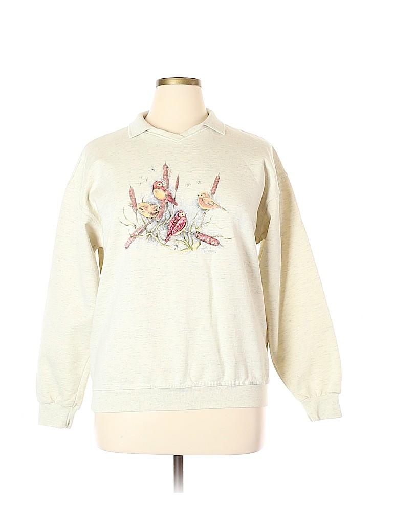 Northern Reflections Women Sweatshirt Size L