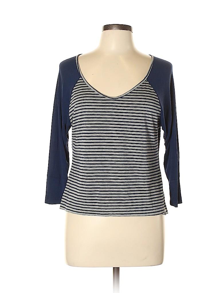 Roxy Women 3/4 Sleeve Top Size L