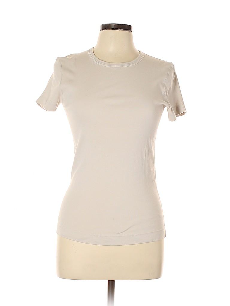 Three Dots Women Short Sleeve T-Shirt Size L