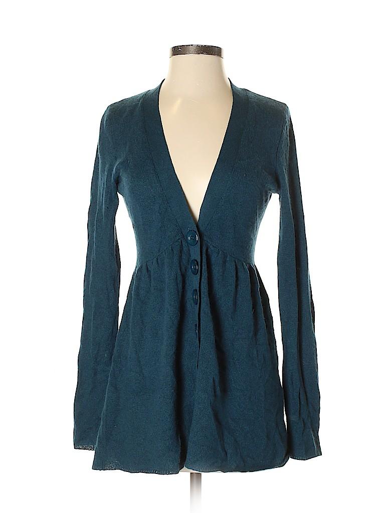 Aqua Women Cashmere Cardigan Size S