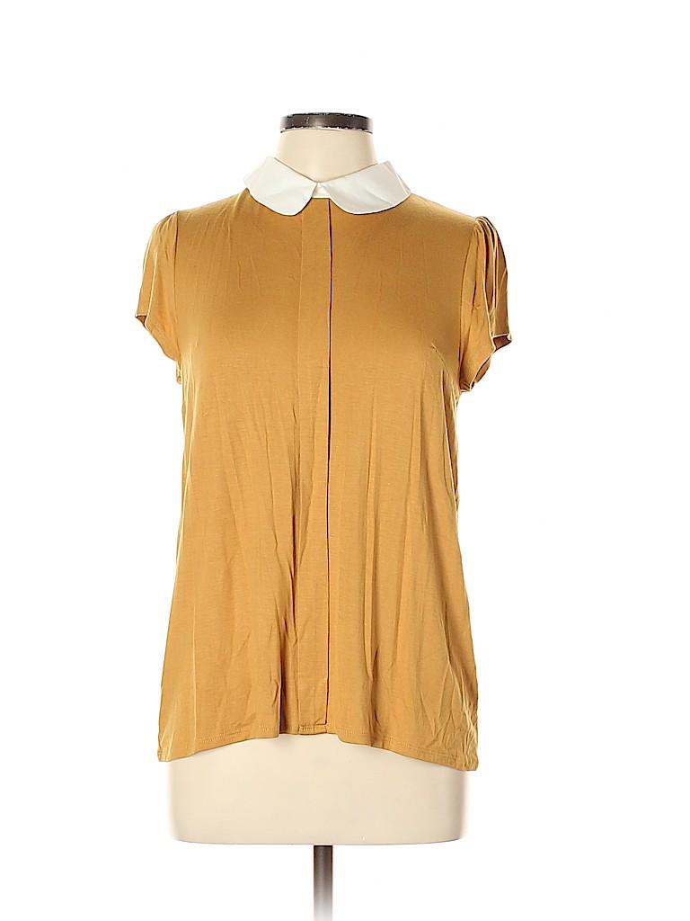 Fervour Women Short Sleeve Top Size L