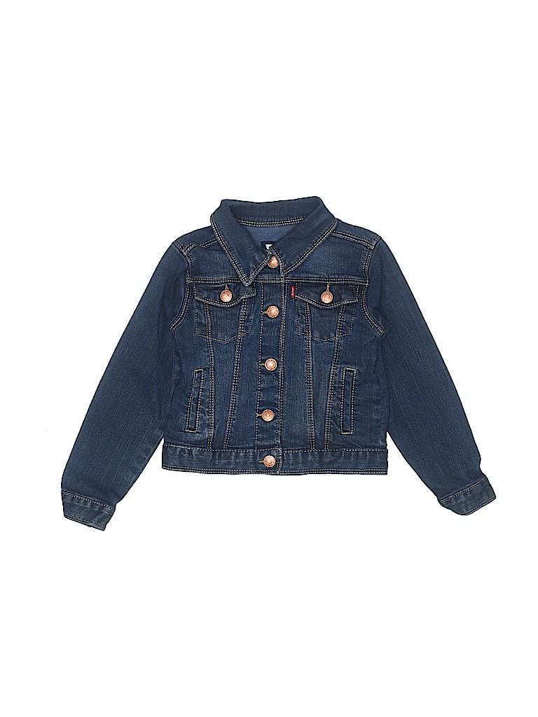 Levi's Girls Denim Jacket Size 4T