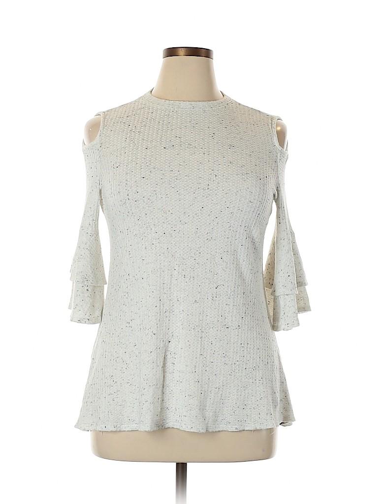 Iz Byer Women 3/4 Sleeve Top Size XXL
