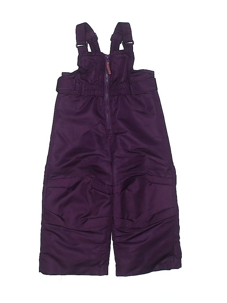Cherokee Girls Snow Pants With Bib Size 18 mo