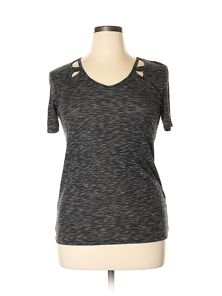 Papaya Women Short Sleeve Top Size 12