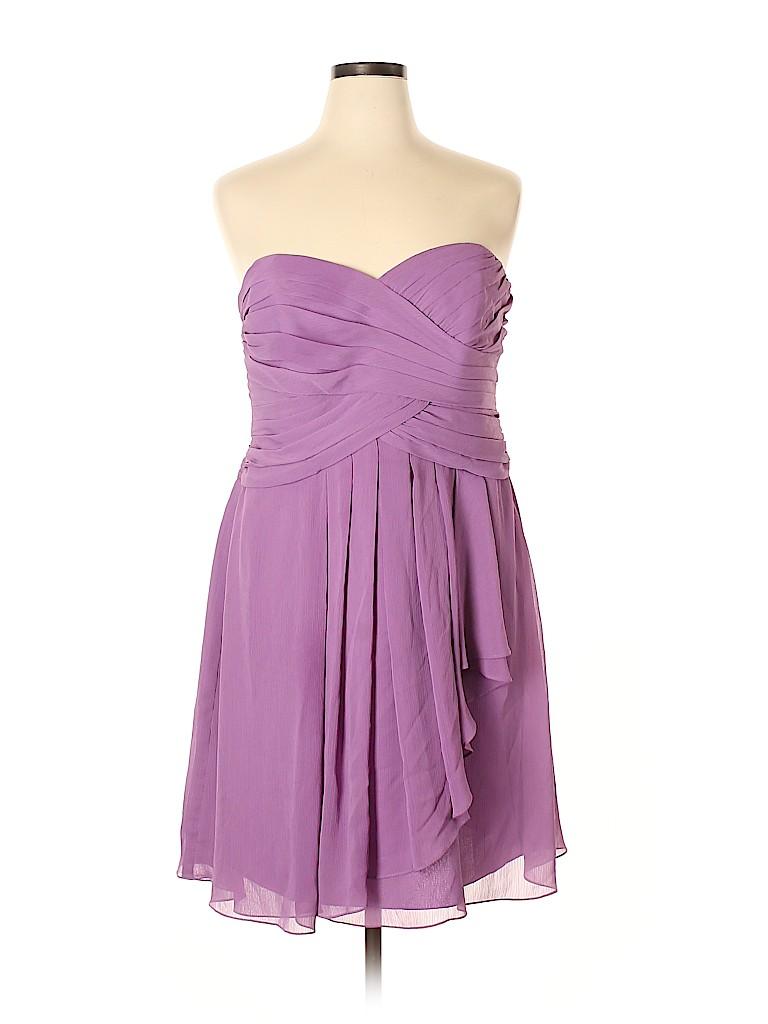 David's Bridal Women Cocktail Dress Size 18 (Plus)