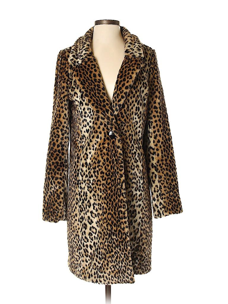 Express Women Faux Fur Jacket Size S