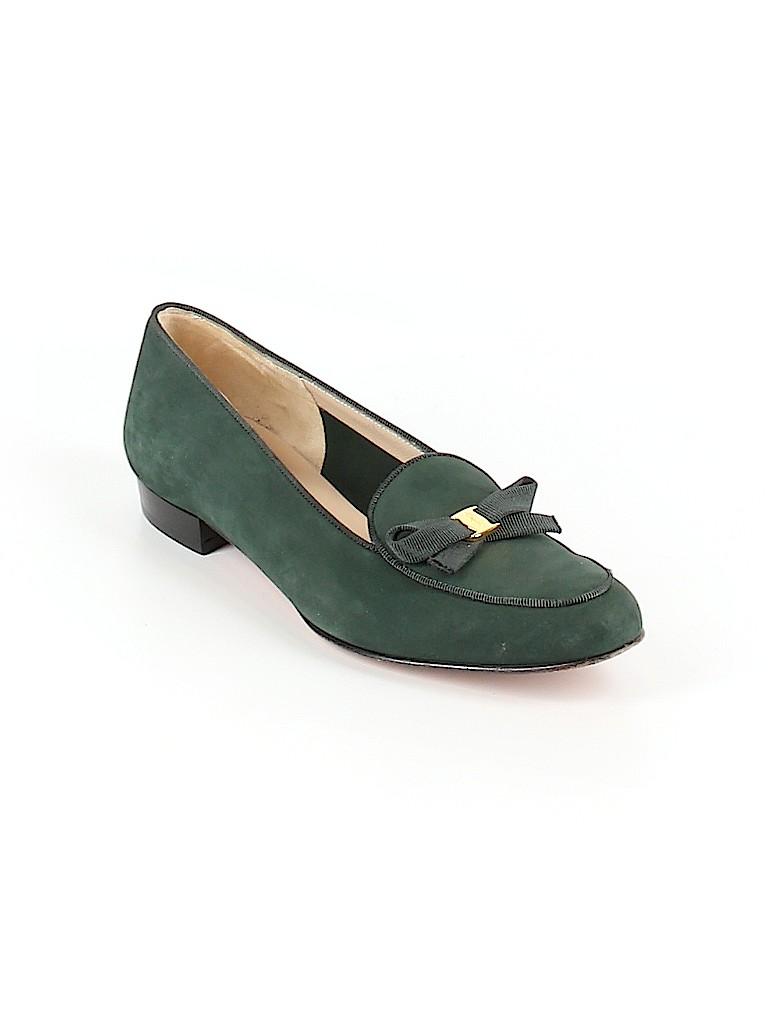 Salvatore Ferragamo Women Flats Size 8 1/2
