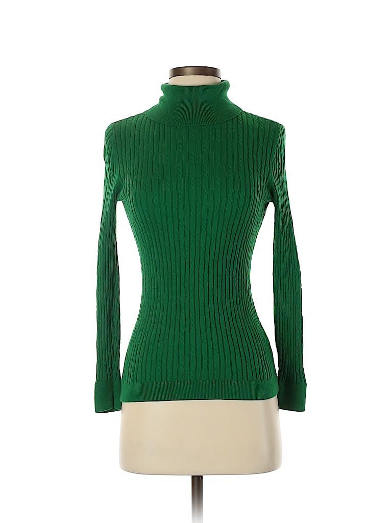 Talbots Women Turtleneck Sweater Size S (Petite)