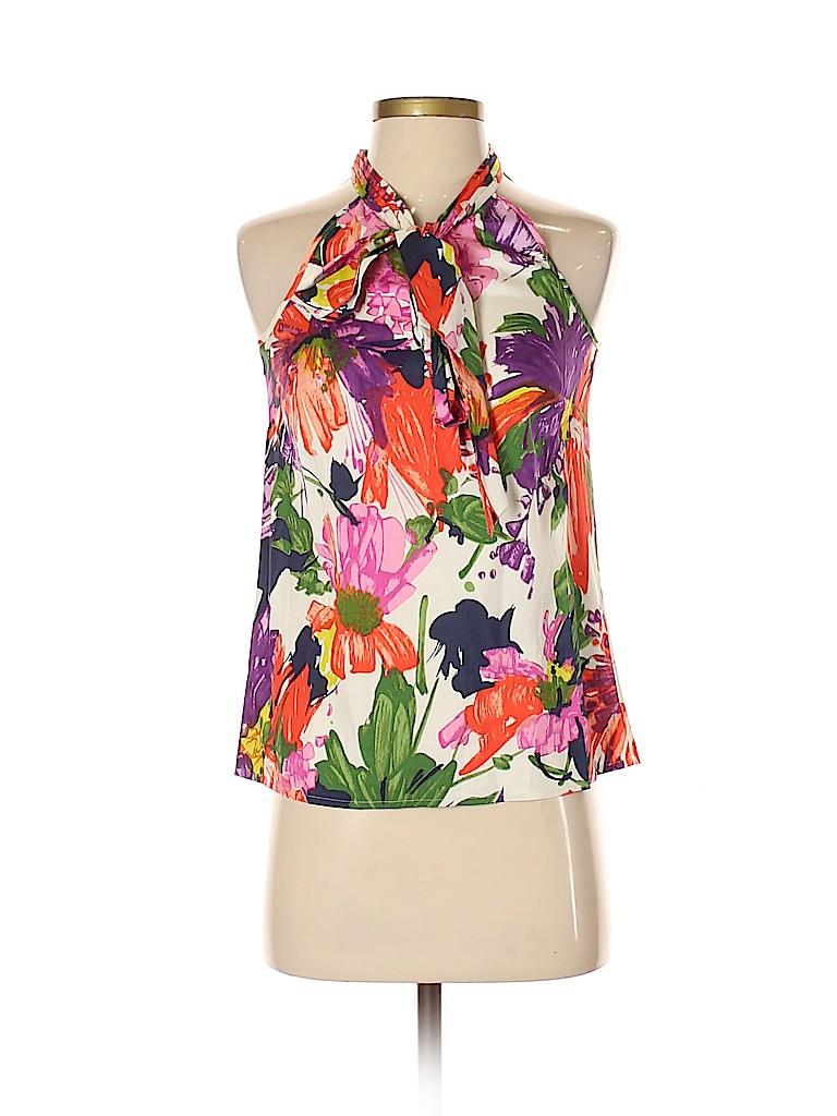 J. Crew Women Sleeveless Silk Top Size 00