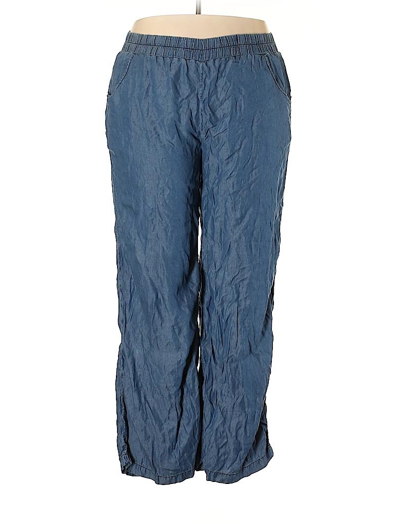 G.H. Bass & Co. Women Casual Pants Size XXL