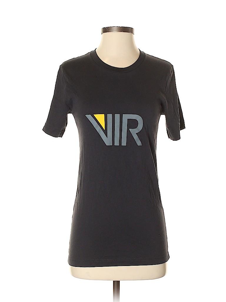 Canvas Women Short Sleeve T-Shirt Size XS