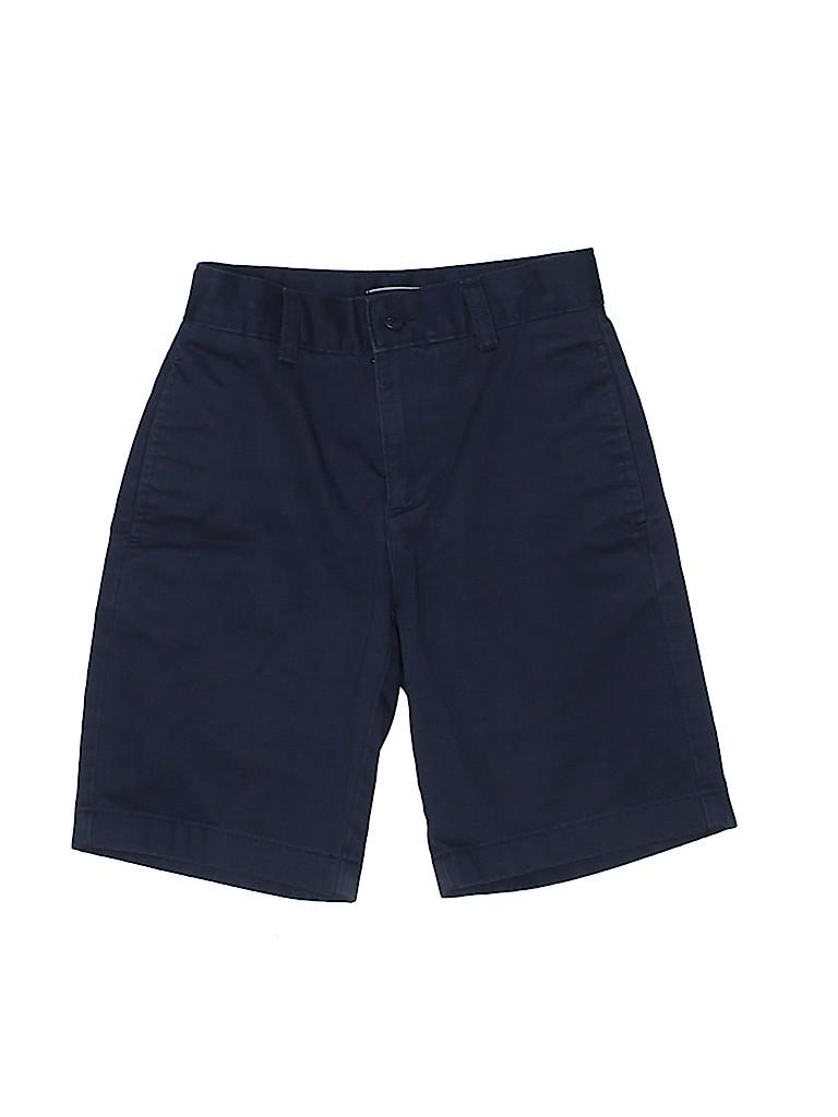 Lands' End Boys Khaki Shorts Size 8