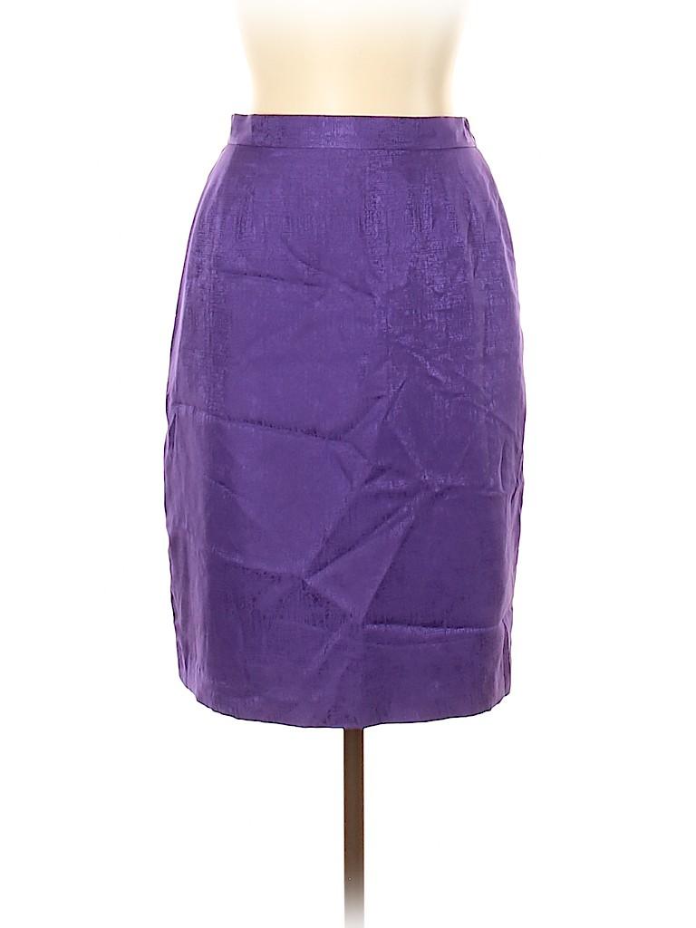 Adrianna Papell Women Silk Skirt Size 10