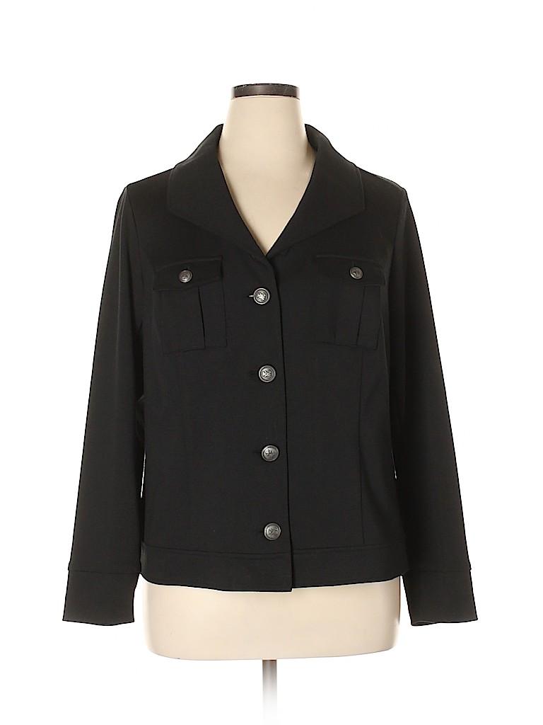 Relativity Women Jacket Size 16 (Plus)