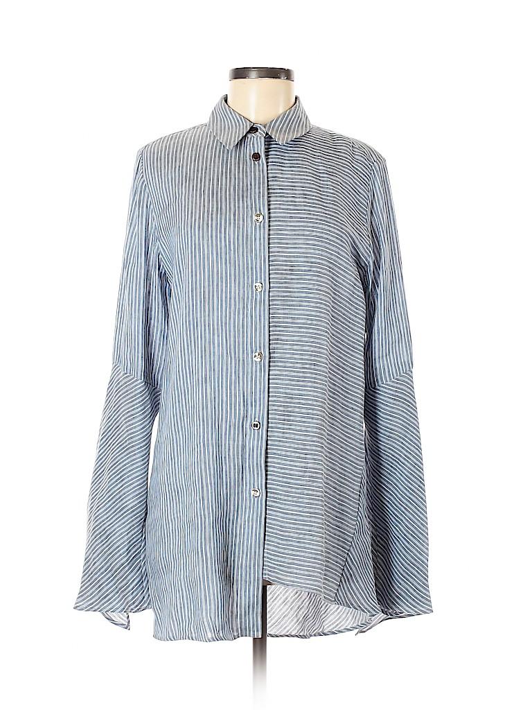 Acne Studios Women Long Sleeve Button-Down Shirt Size 40 (EU)
