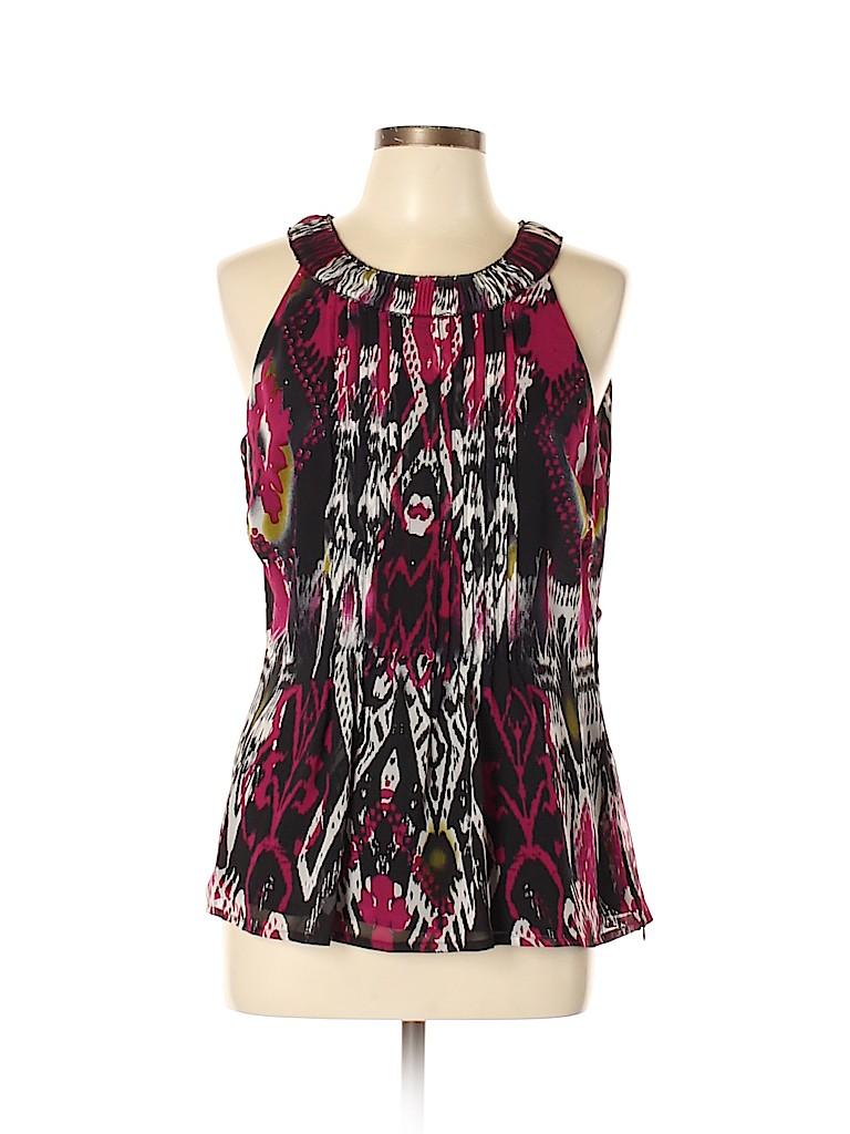 Etcetera Women Sleeveless Silk Top Size 12