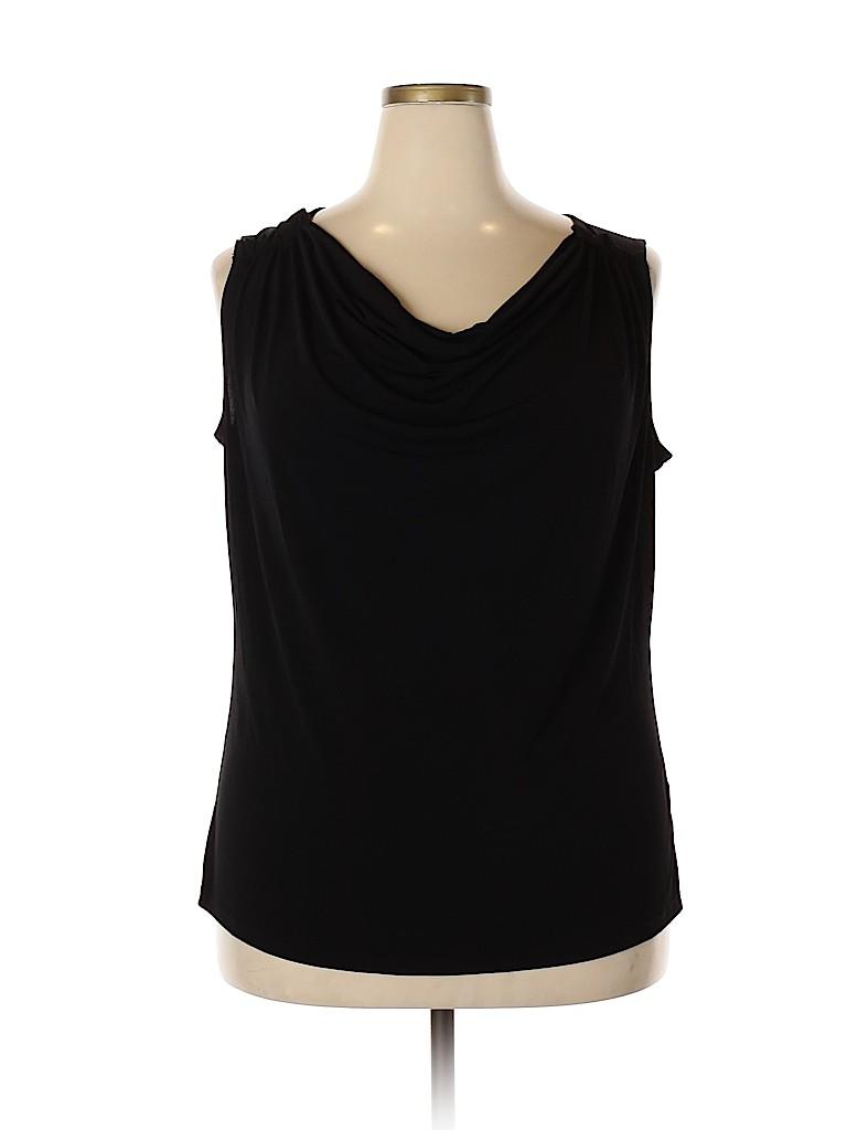 Jones New York Signature Women Sleeveless Top Size 2X (Plus)