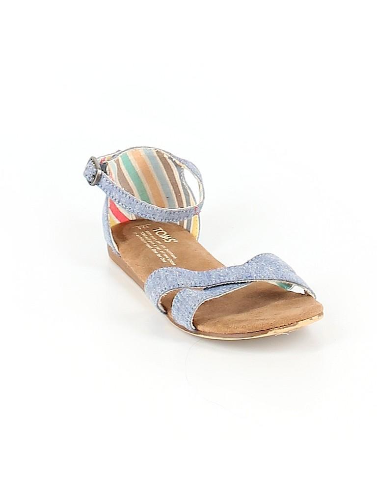 TOMS Girls Sandals Size 2 1/2