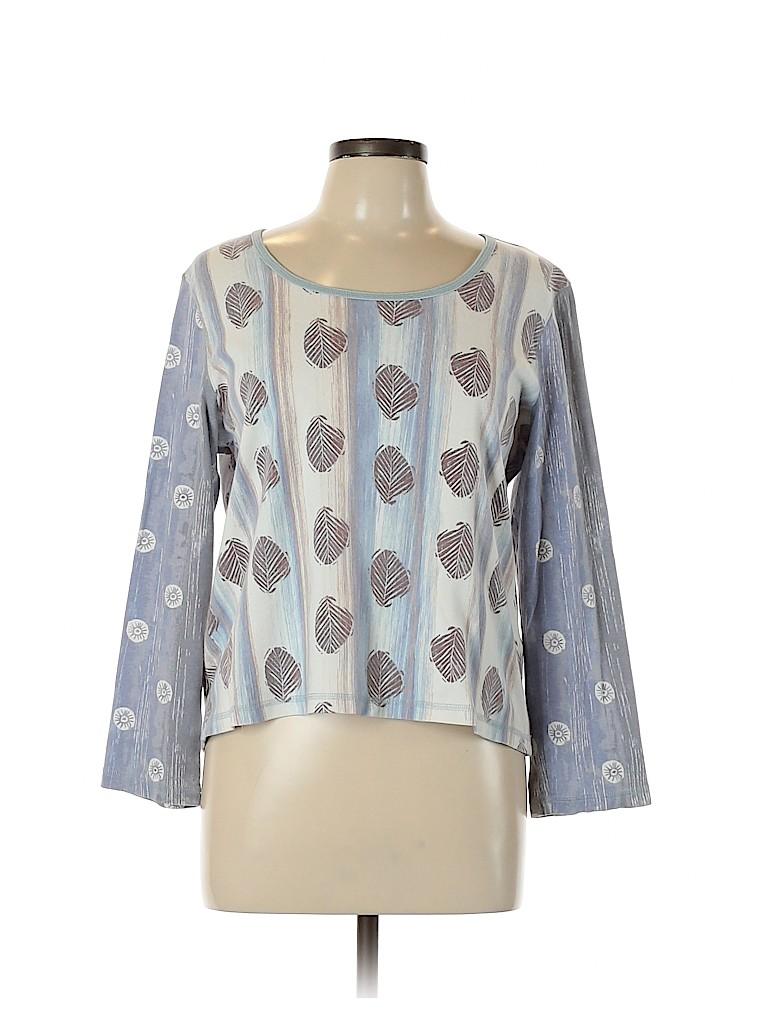 Sigrid Olsen Women Long Sleeve T-Shirt Size XL
