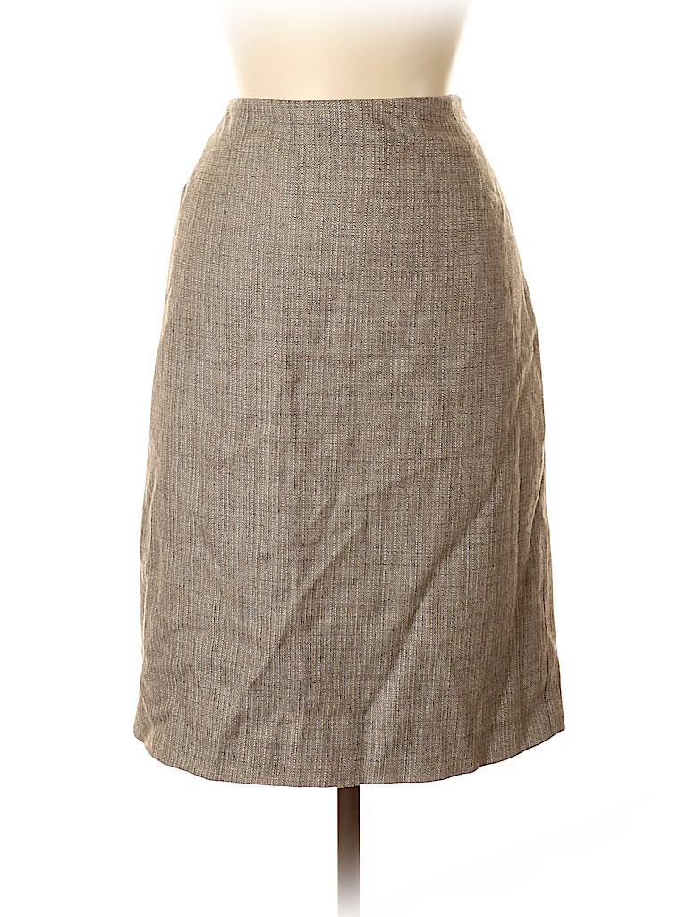 Harve Benard by Benard Holtzman Women Wool Skirt Size 6