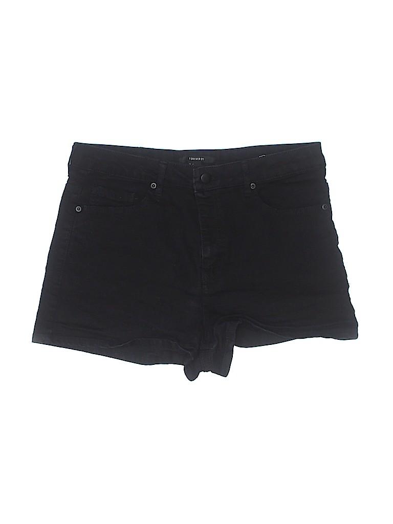 Forever 21 Women Denim Shorts 31 Waist