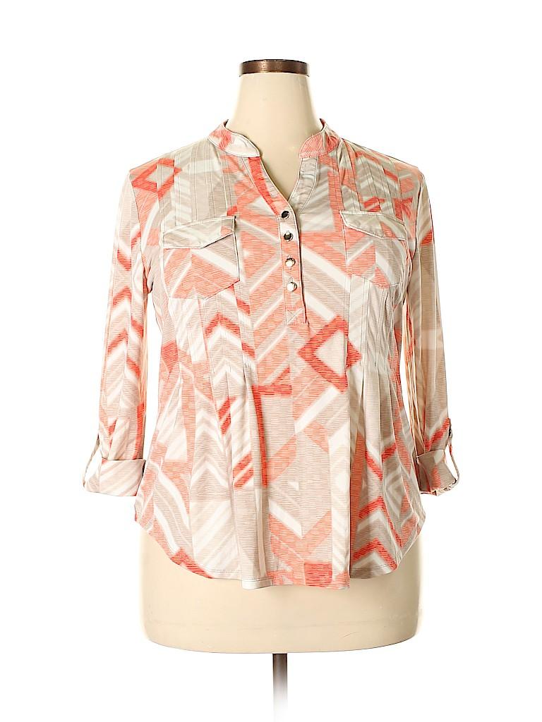 Cocomo Women 3/4 Sleeve Top Size XL