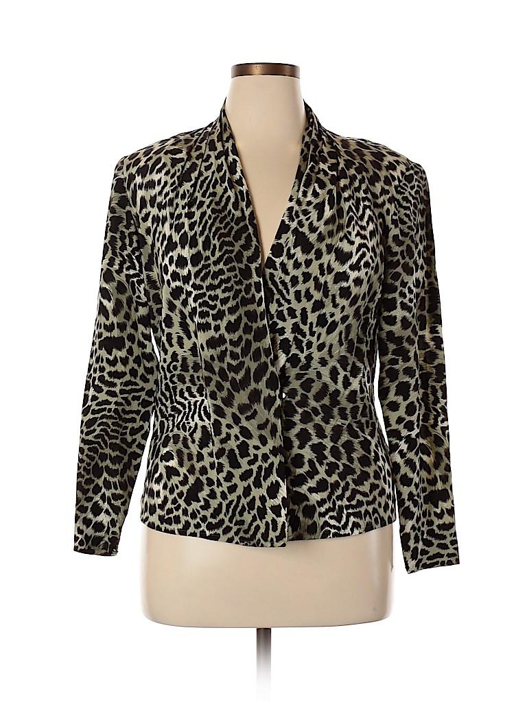 Carlisle Women Silk Cardigan Size 14