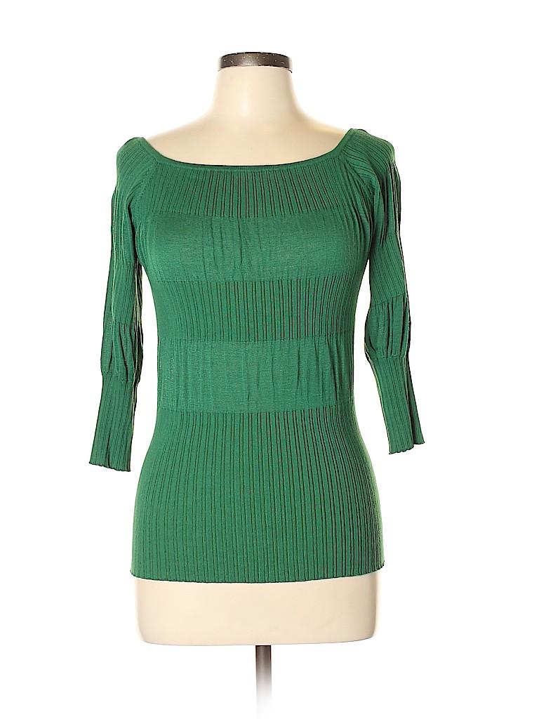 Arden B. Women 3/4 Sleeve Top Size M