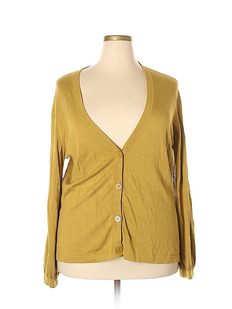 Jones New York Collection Women Cardigan Size 2X (Plus)