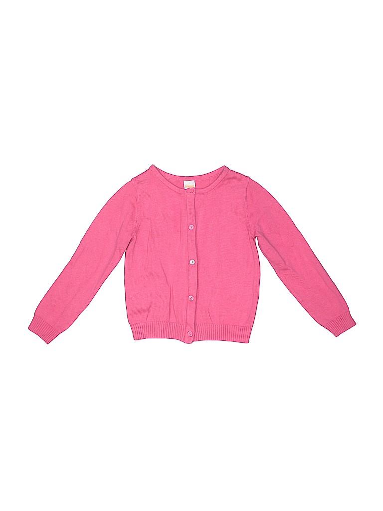 a231b0c83 Gymboree 100% Cotton Pink Cardigan Size 5 - 66% off