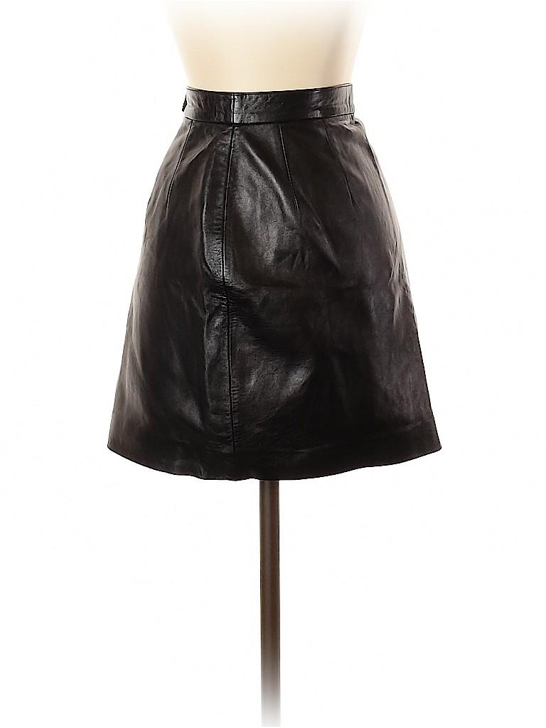 Carlisle Women Leather Skirt Size 2