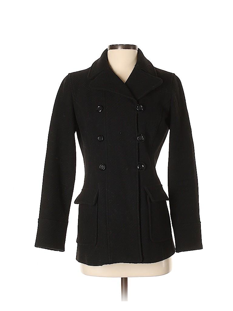 Frenchi Women Wool Coat Size S
