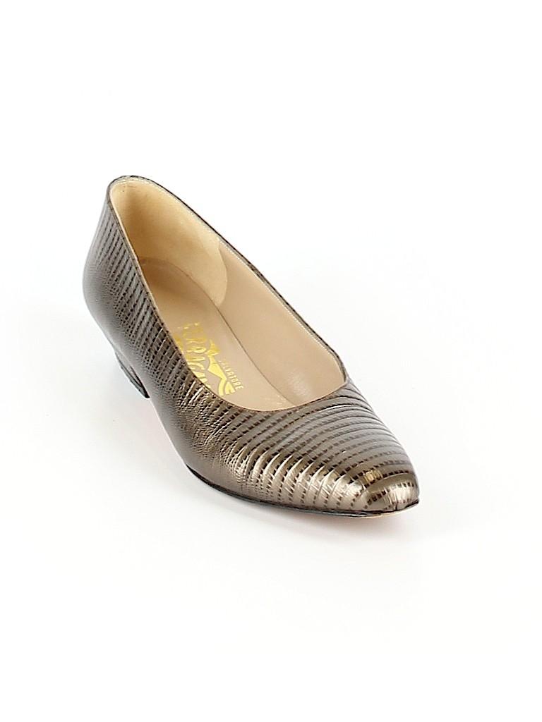 Salvatore Ferragamo Women Heels Size 7 1/2