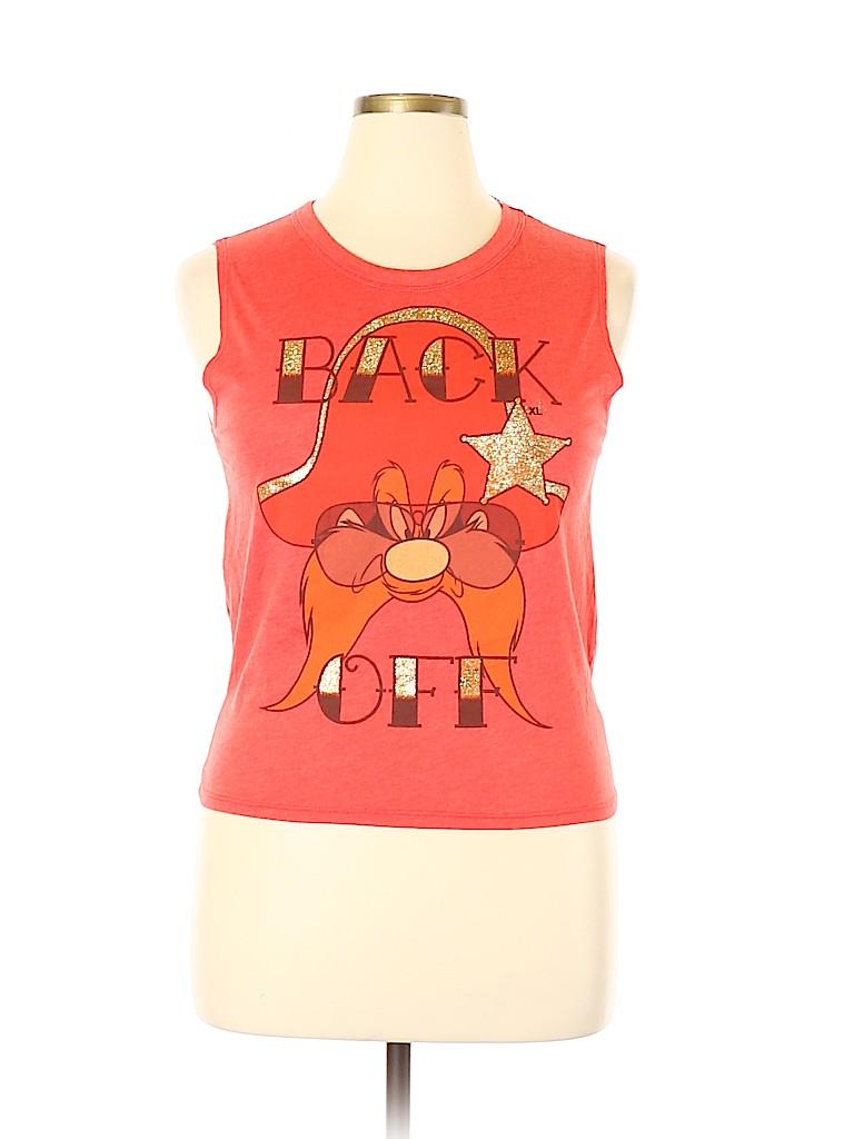 Looney Tunes Women Sleeveless T-Shirt Size XL