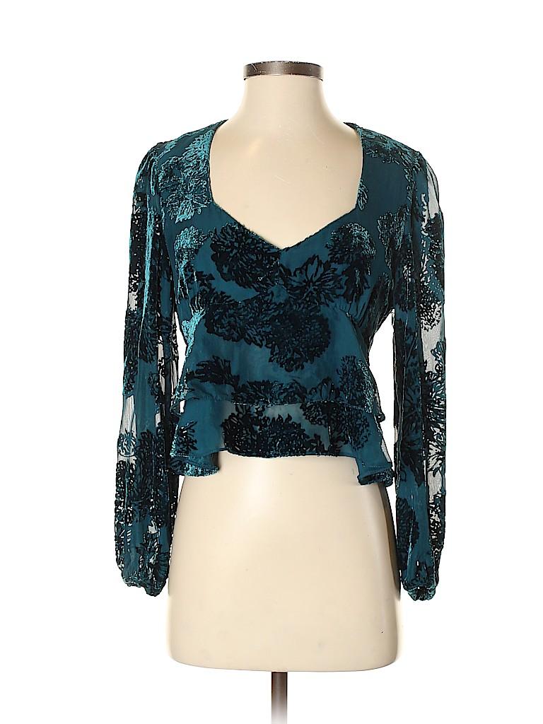 Intermix Women Long Sleeve Blouse Size 4
