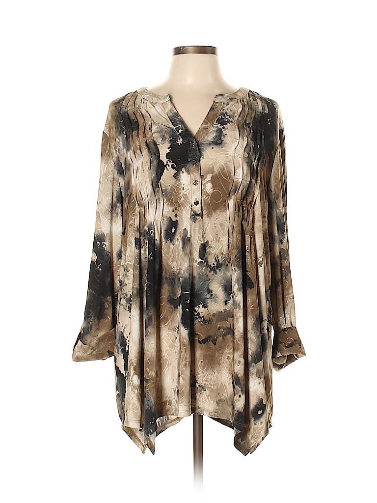 Cocomo Women Long Sleeve Top Size XL