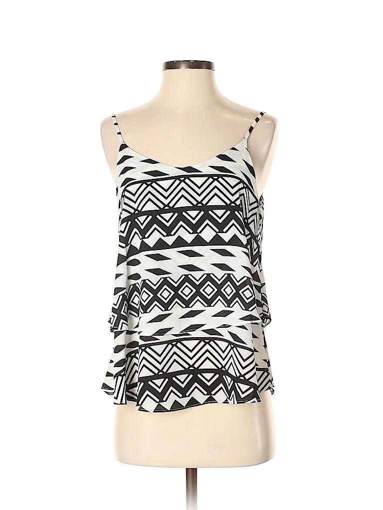 Annabella Women Sleeveless Blouse Size S